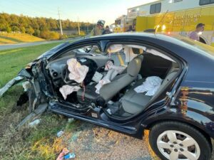 One Flown to Area Trauma Center After Motor Vehicle Accident in Huntingtown