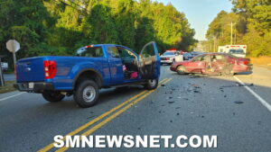 One Transported to Trauma Center After Motor Vehicle Collision in Lexington Park