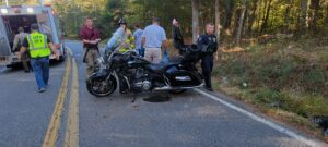Two Flown to Area Trauma Center After Motor Vehicle Collision Involving Motorcycle in Leonardtown