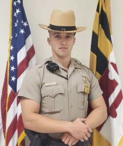 Maryland State Police Leonardtown Barrack's Trooper of the Month for August 2021