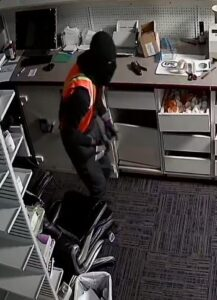 Detectives Investigating Burglary of Two Pharmacies in Calvert County, Police Seeking Identity of Suspects