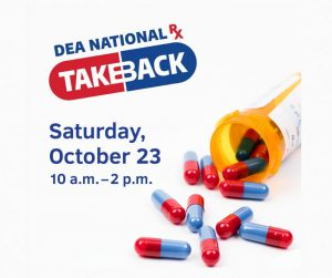 Maryland State Police To Participate In National Drug Take Back Day