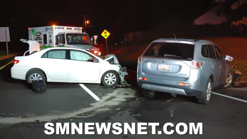 Two Transported to Hospital After Wrong Way Driver Causes Head-on Collision in California
