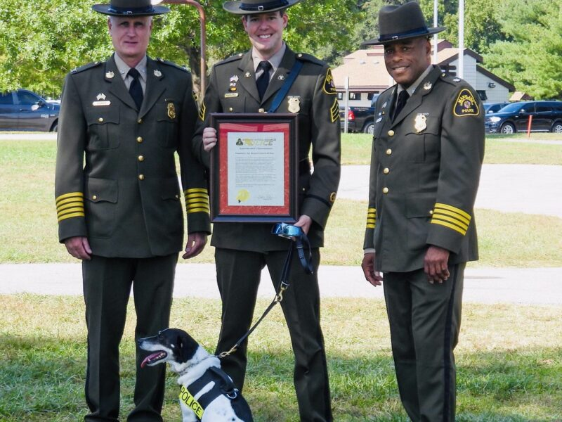 Natural Resources Police Awards Officers for Exceptional Service